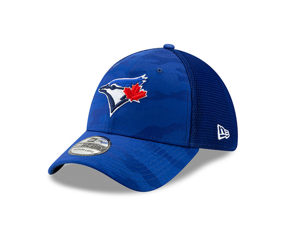 san francisco 65a81 4c47d Toronto Blue Jays Camo Front Neo Royal Stretch Cap by New Era