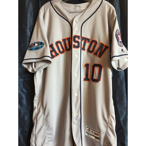 new product 390fa 2c7d7 MLB Auctions | Yuli Gurriel 2018 Road Gray Game-Used ALCS ...
