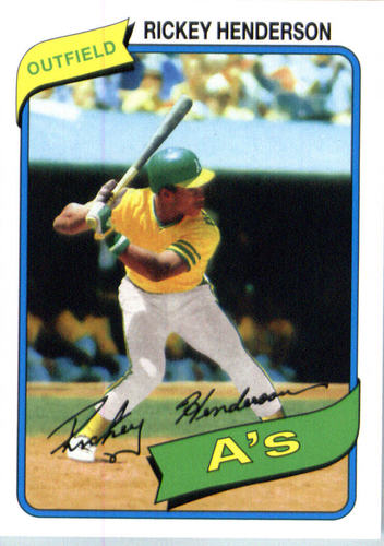 Photo of 2016 Topps Berger's Best #BB29 Rickey Henderson