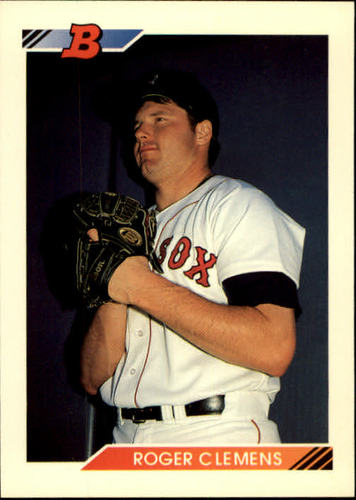 Photo of 1992 Bowman #691 Roger Clemens