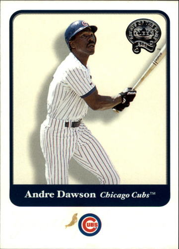 Photo of 2001 Greats of the Game #43 Andre Dawson