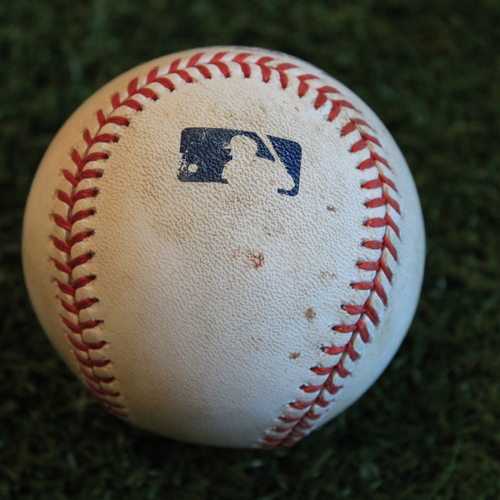 Photo of Game-Used Baseball: Grayson Greiner 49th Career Hit (9/3/19 - DET @ KC)