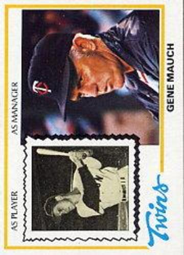 Photo of 1978 Topps #601 Gene Mauch MG