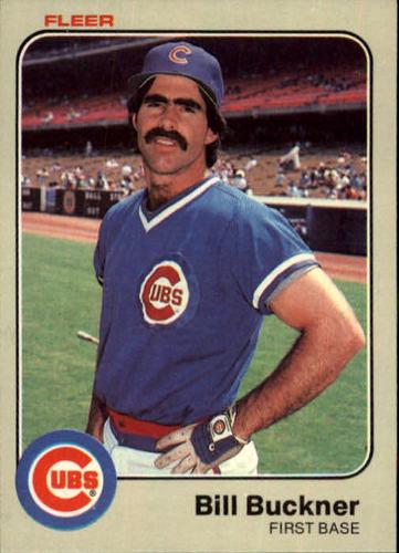 Photo of 1983 Fleer #492 Bill Buckner