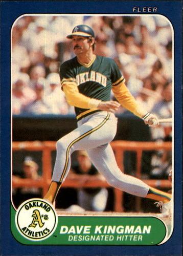 Photo of 1986 Fleer #423 Dave Kingman