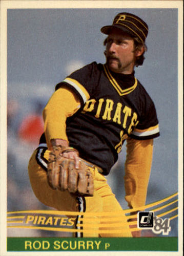 Photo of 1984 Donruss #235 Rod Scurry
