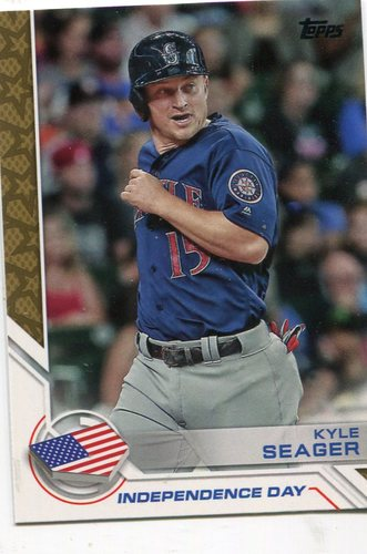 Photo of 2017 Topps Independence Day #ID10 Kyle Seager