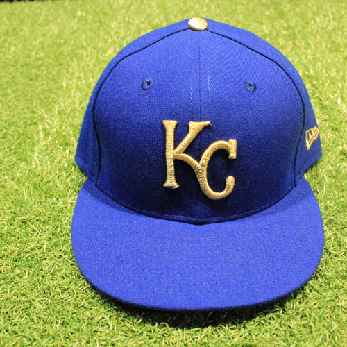 Photo of Game-Used 2020 Gold Hat: Damon Hollins #39 (Size 7 1/2 - DET @ KC 9/25/20)