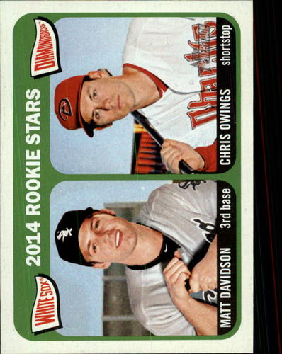 Photo of 2014 Topps Heritage #368 Matt Davidson RC/Chris Owings RC