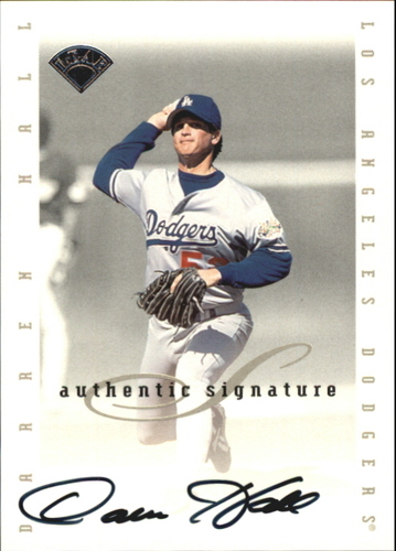Photo of 1996 Leaf Signature Extended Autographs #69 Darren Hall