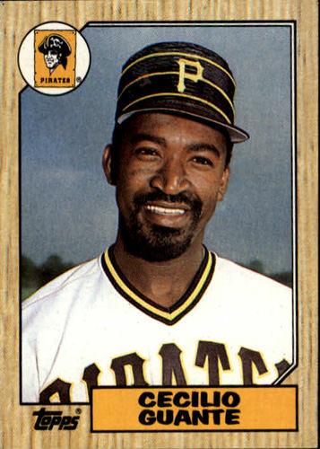 Photo of 1987 Topps #219 Cecilio Guante