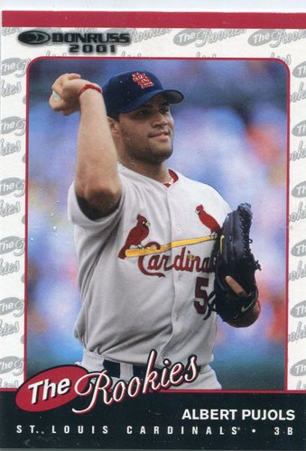 Photo of 2001 Donruss Rookies #R97 Albert Pujols Rookie Card