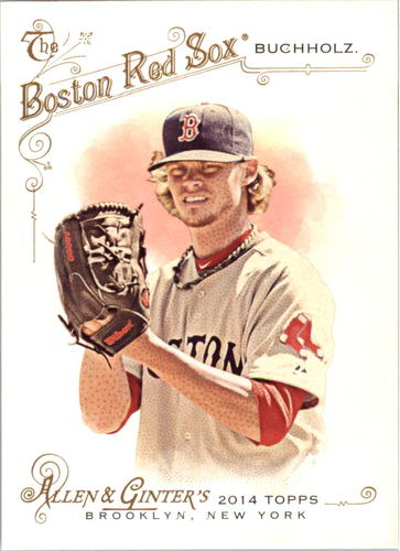 Photo of 2014 Topps Allen and Ginter #91 Clay Buchholz