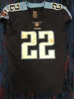 STS - TITANS DERRICK HENRY GAME WORN JERSEY (NOVEMBER 12, 2017)