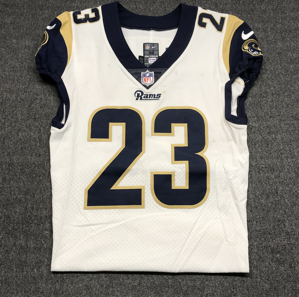 best loved aa0e0 3305a NFL Auction | LONDON GAMES - RAMS NICKELL ROBEY GAME WORN ...