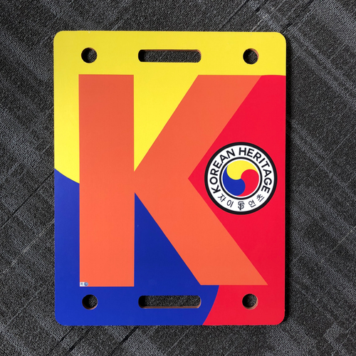 "Photo of 2018 San Francisco Giants - Korean Heritage - Game Used ""K Board"""
