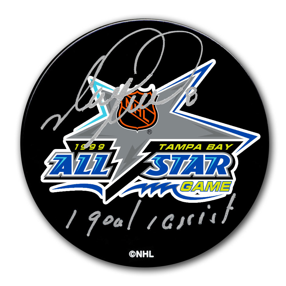 Mark Recchi 1999 NHL All-Star Game Autographed Puck