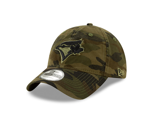 Toronto Blue Jays Women's Core Classic Camo Adjustable Cap by New Era