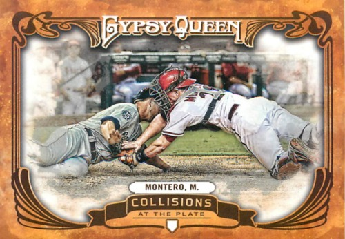 Photo of 2013 Topps Gypsy Queen Collisions At The Plate #MM Miguel Montero