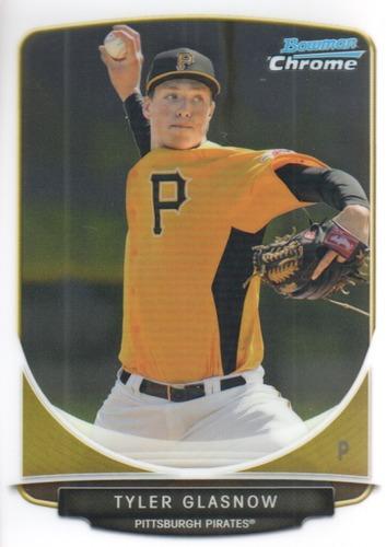 Photo of 2013 Bowman Chrome Prospects #BCP134 Tyler Glasnow