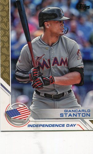 Photo of 2017 Topps Independence Day #ID12 Giancarlo Stanton