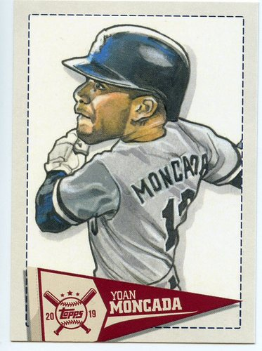 Photo of 2019 Topps Big League Star Caricature Reproductions #SCRYM Yoan Moncada