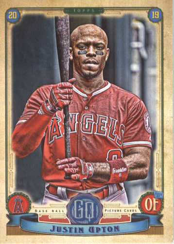 Photo of 2019 Topps Gypsy Queen #36 Justin Upton