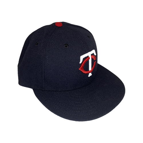 Photo of Minnesota Twins 2019 Team-Issued Road Navy Cap - Choose Your Number and Size!