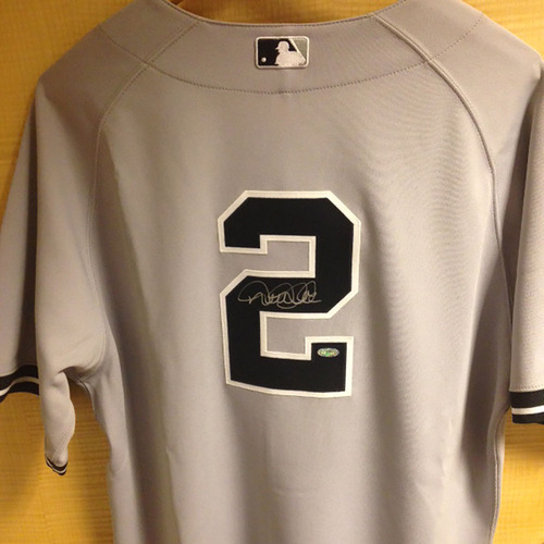Urban Youth Foundation Auction  Derek Jeter Autographed Game-Used Road  Jersey cc70de897b8