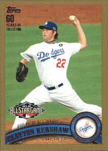 Photo of 2011 Topps Update Gold #US140 Clayton Kershaw