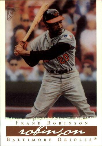 Photo of 2003 Topps Gallery HOF Artist's Proofs #63 Frank Robinson Wood Bat