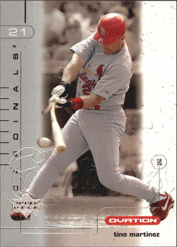 Photo of 2002 Upper Deck Ovation Silver #36 Tino Martinez