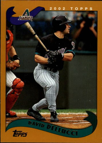 Photo of 2002 Topps #501 David Dellucci