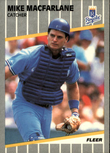 Photo of 1989 Fleer #287 Mike Macfarlane RC