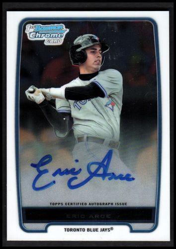 Photo of 2012 Bowman Chrome Prospect Autographs #BCP74 Eric Arce