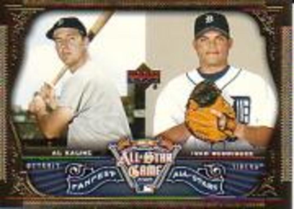 2005 FanFest All-Star #8 Ivan Rodriguez/Al Kaline