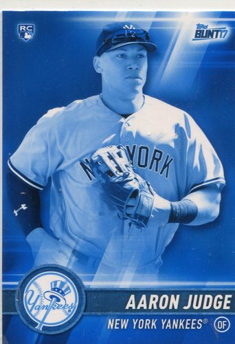 Photo of 2017 Topps Bunt Blue #20 Aaron Judge