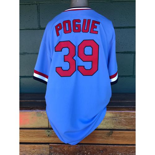 Cardinals Authentics: Jamie Pogue Game Worn 1984 Turn Back the Clock Uniform