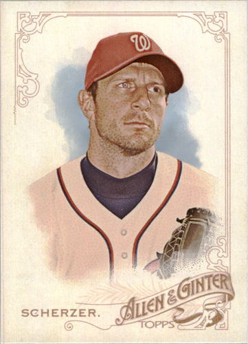 Photo of 2015 Topps Allen and Ginter Mini #42 Max Scherzer