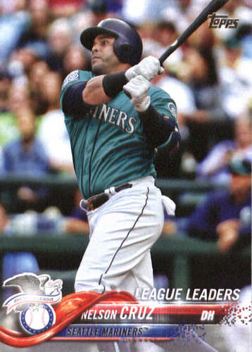 Photo of 2018 Topps #253 Nelson Cruz LL
