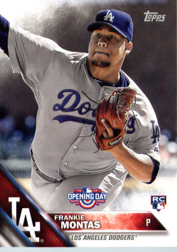 Photo of 2016 Topps Opening Day #OD162 Frankie Montas RC
