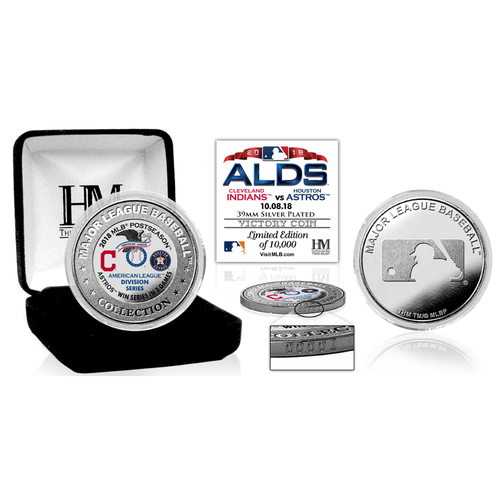 Photo of Houston Astros 2018 ALDS Victory Silver Color Coin