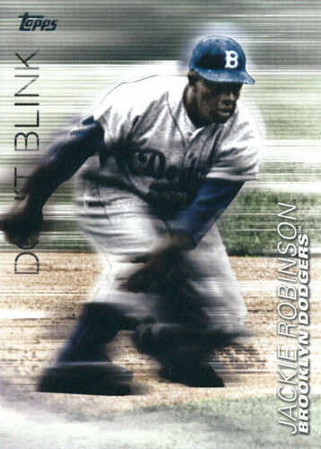 Photo of 2018 Topps Update Don't Blink #DB16 Jackie Robinson