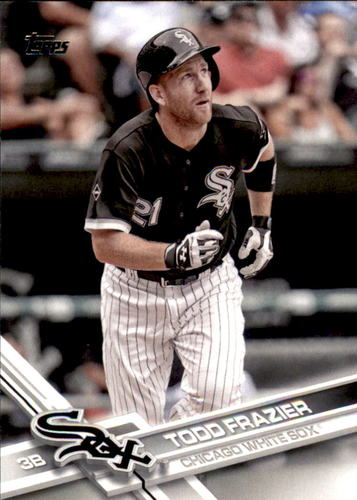 Photo of 2017 Topps #656 Todd Frazier