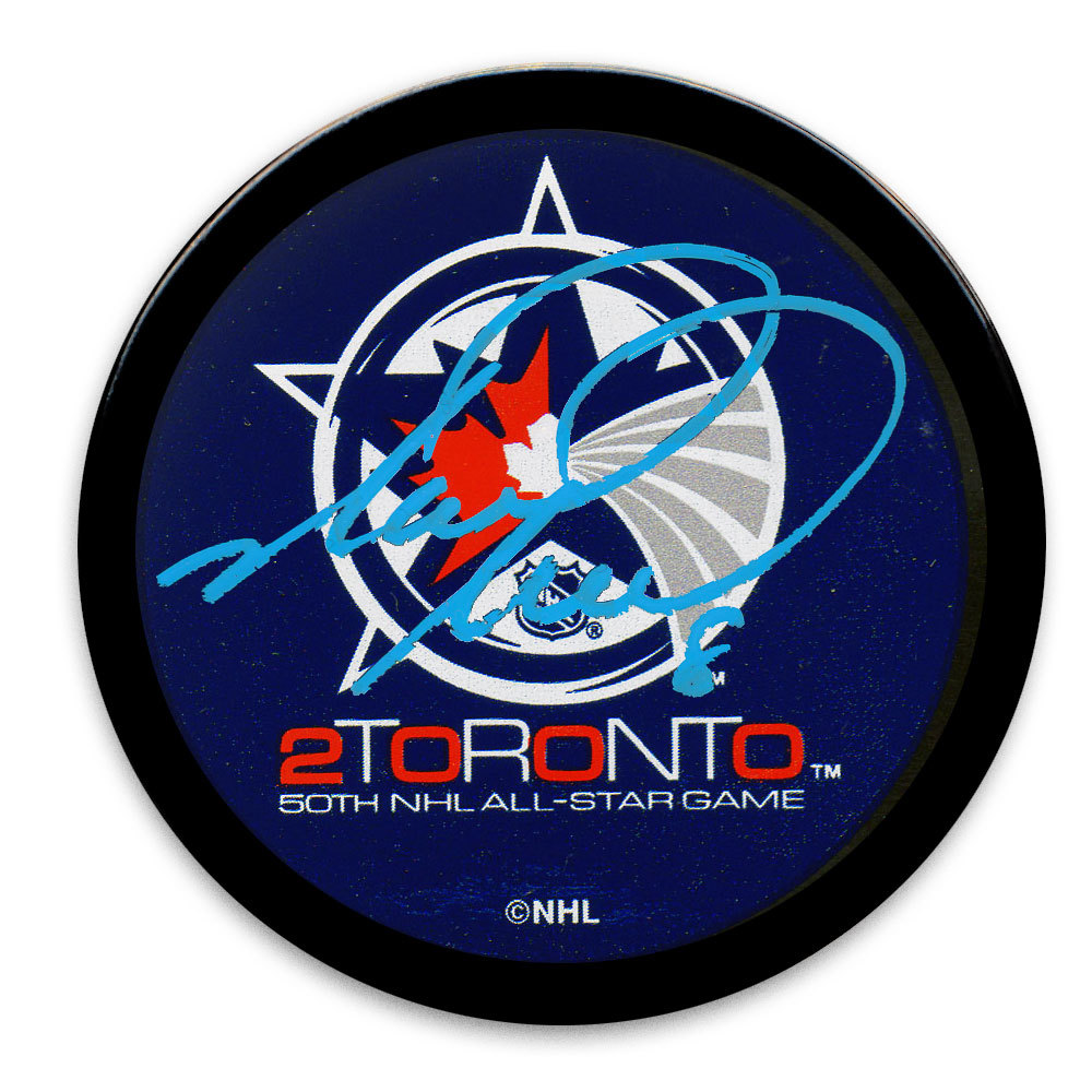 Mark Recchi 2000 NHL All-Star Game Autographed Puck