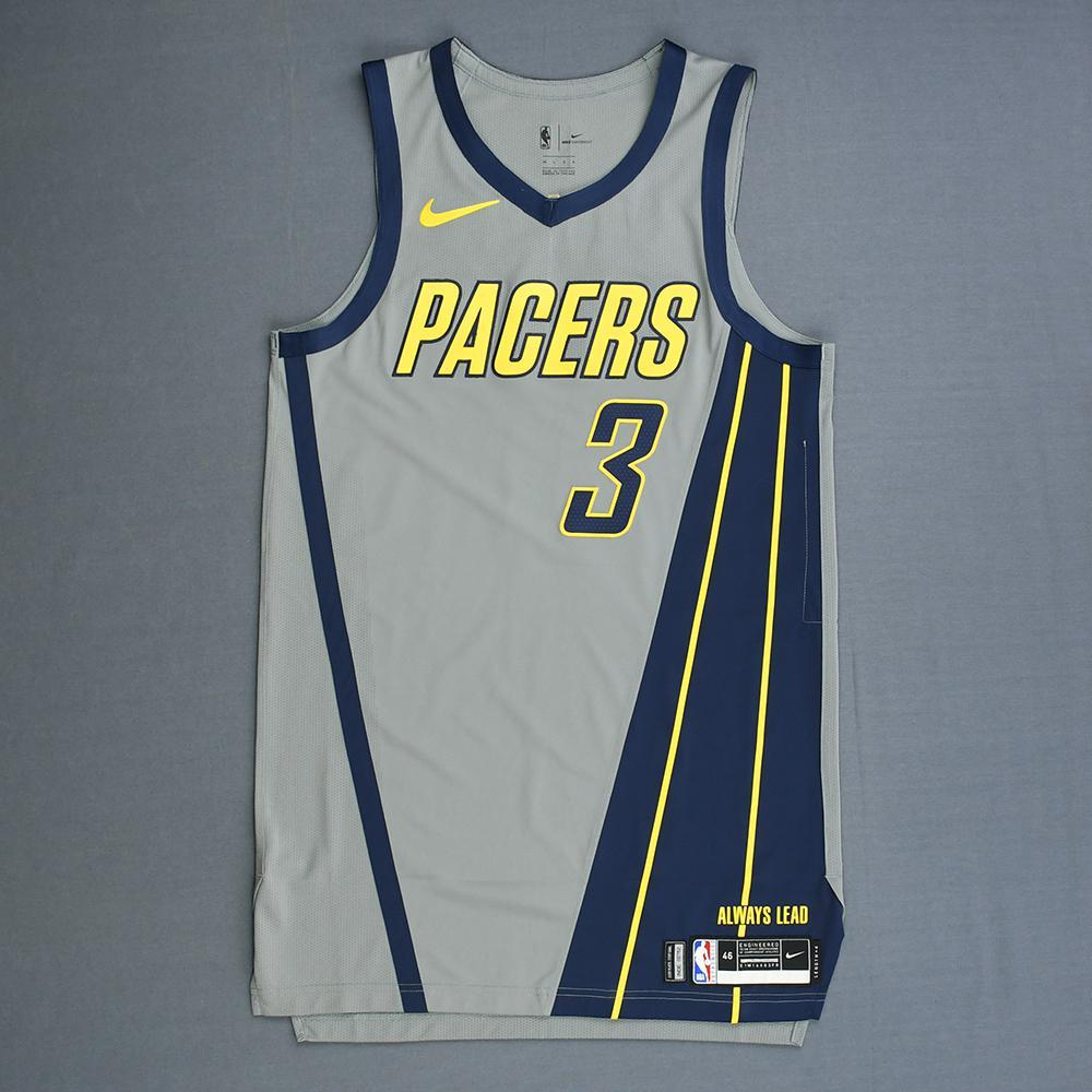 Aaron Holiday - Indiana Pacers - Game-Issued City Edition Jersey - 2018-19 Season