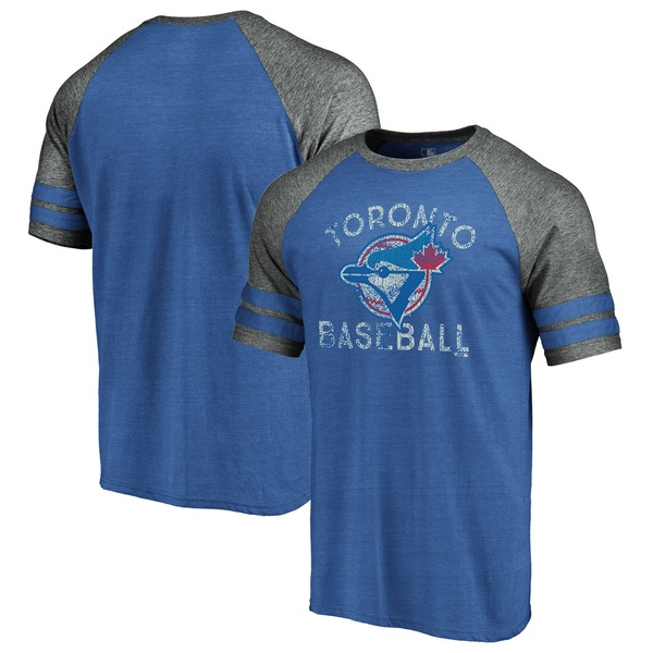 Toronto Blue Jays Earn Your Stripes Raglan by Fanatics