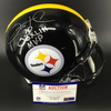 PCC -  Steelers Santonio Holmes Authentic Proline Helmet featuring 'SB XLIII MVP' Inscription