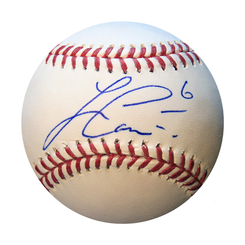 Photo of Autographed Baseball: Lorenzo Cain