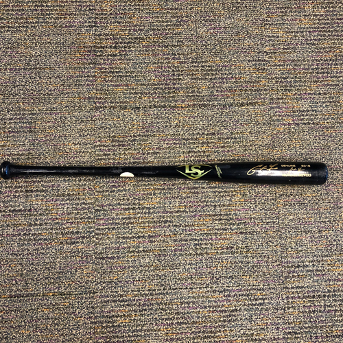 Photo of Pablo Sandoval Foundation - Autographed Game Model Bat signed by Milwaukee Brewers Right Fielder Christian Yelich